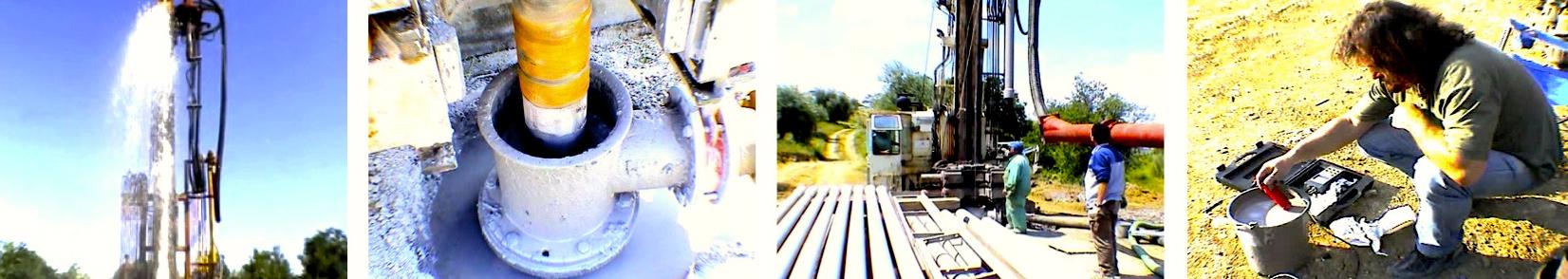 Striscia cantiere - ricerche idriche termali