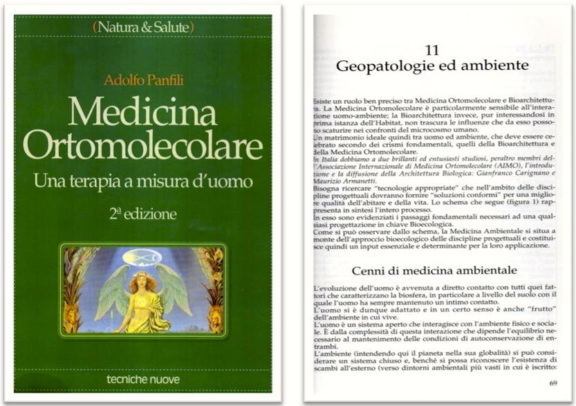 """Testimonianze - Il libro """" Medicina Ortomolecolare"""" cita l'attività di Maurizio Armanetti Rabdomante"""